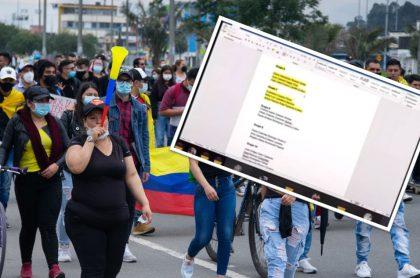 """Profesora de la Universidad Industrial de Santander en Bucaramanga llamó """"guerrilleros"""" a estudiantes en clase por apoyar paro nacional."""