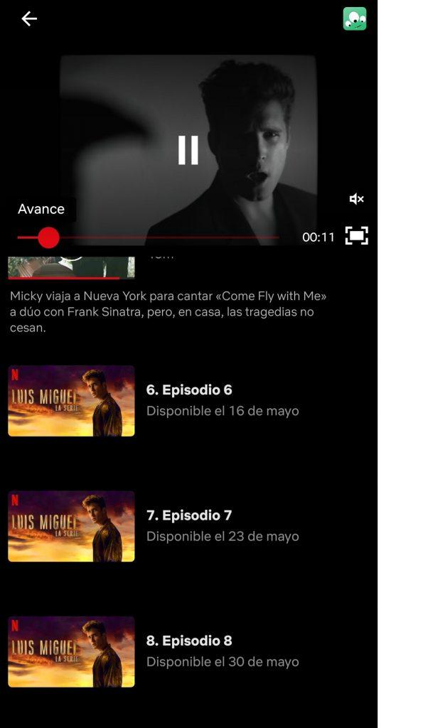 Captura de pantalla Netflix.