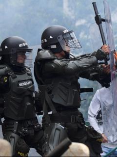 Ningún país a poya a Colombia, según la politóloga Sandra Borda. Imagen de referencia del paro nacional.