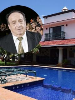 'Villa Florinda', la casa donde Chespirito pasó sus últimos días.