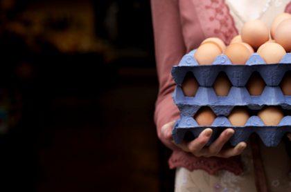 Paro nacional: escasez de cubetas de huevos evita que productora los venda