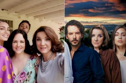 Laura Archbol, María Teresa Barreto, Luces Velásquez y Diego Cadavid en 'Café, con aroma de mujer', a propósito de personaje que no existía en la original y tiene coincidencia con 'Pa' quererte'.