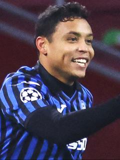 Gol de Luis Fernando Muriel con Atalanta al Benevento en la Liga de Italia. Imagen de Muriel.