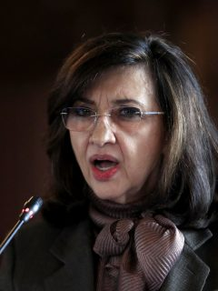 Claudia Blum, que al parecer renunció a la Cancillería