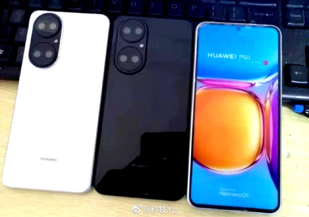 ProAndroid / Fotos filtradas de la parte delantera del que sería el Huawei P50.