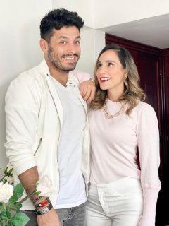Foto de Santiago Alarcón y 'Chichila' a propósito de si han pensado en separarse