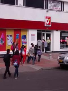 Fachada de tienda D1, ilustra nota de Tatiana Mejía asume presidencia de Tiendas D1; reemplaza a Fernando González