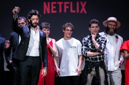 Protagonistas de 'La casa de papel', ilustra nota de Termina rodaje de quinta temporada de 'La casa de papel', ¿cuándo se estrena?