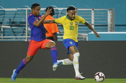 Imagen de Neymar que ilustra nota; Copa América: Brasil llama a Neymar, pero DT no quiere viaje a Colombia