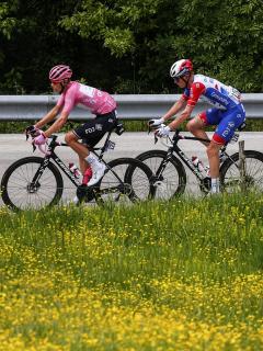 Lote durante la etapa 8 del Giro de Italia 2021. Clasificación general.