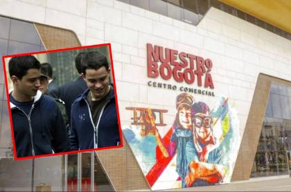Imágene de Tomás y Jerónimo Uribe, junto a su centro comercial.