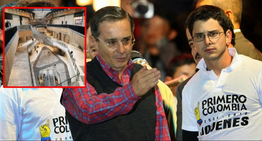 Convocan nuevas protestas en centro comercial de los hijos de Álvaro Uribe