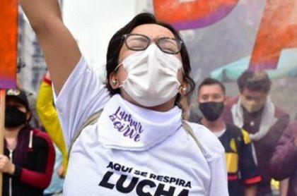 Jennifer Pedraza, líder estudiantil que toma protagonismo en paro nacional