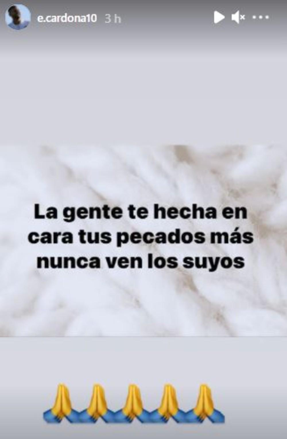 Instagram Edwin Cardona