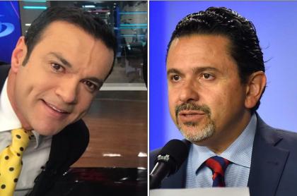 Juan Diego Alvira y Miguel Ceballos