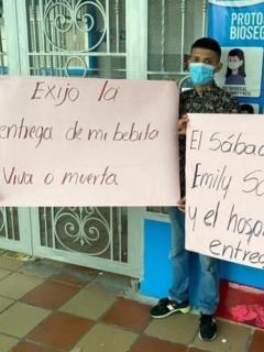 Familia dice que hospital de Tuluá entregó rata muerte en vez de cuerpo de bebé