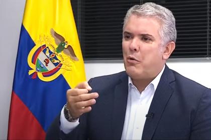Copa América: gobierno colombiano siente que Argentina no fue leal con el torneo. Imagen de Iván Duque.