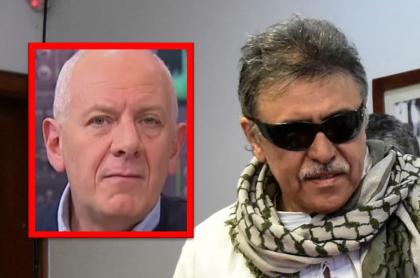 """Felipe Zuleta, que dijo que 'Jesús Santrich' es """"un buen muerto"""", y el desertor de la paz"""