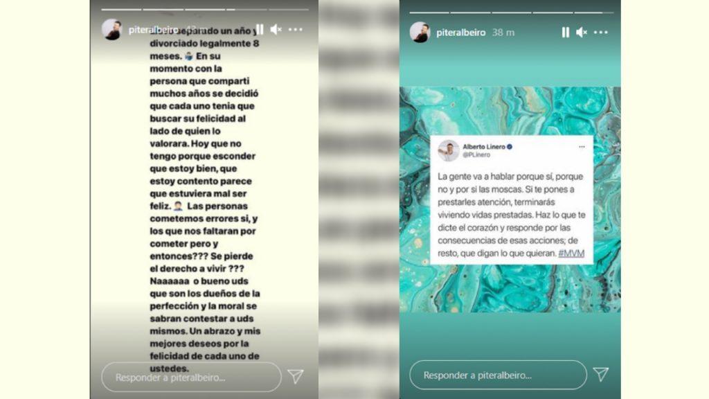 Historias de Piter Albeiro en Instagram