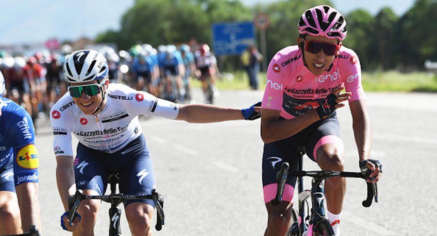 Giro de Italia: Evenepoel fue superado por Egan Bernal en la etapa 11