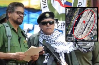 Jesús Santrich: ubicación de casas donde se resguardan las Farc en Venezuela
