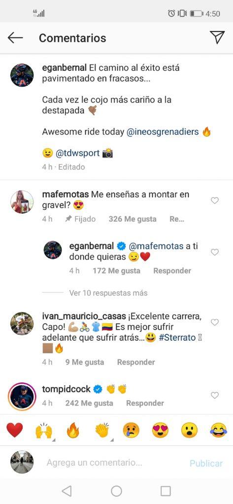 Instagram: Egan Bernal