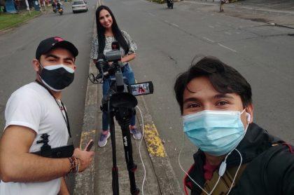 Periodistas de Telemundo robados en Cali, mientras cubrían paro nacional