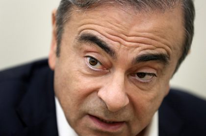 Carlos Ghosn, expresidente de Renault-Nissan.