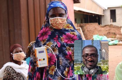 Joven empodera agricultores africanos con tecnología asequible