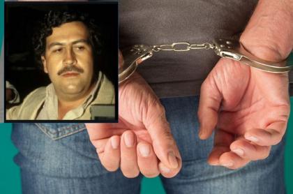 Imagen de hombre detenido, que ilustra captura de colombiano considerado el Pablo Escobar en España