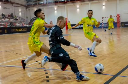 Alianza Bananera, el equipo colombiano de futsal, perdió por W en Copa Libertadores.