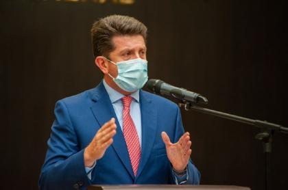 El ministro de Defensa, Diego Molano, quien acusó a Rusia de ciberataques en Colombia.