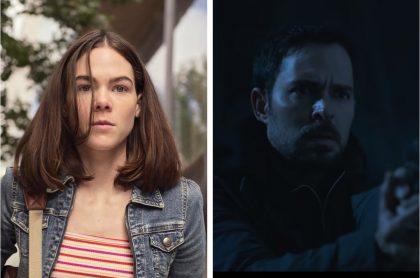 Montaje con imágenes de Ximena Lamadrid y Manolo Cardona, actores que interpretan a 'Sara' y a 'Álex Guzmán', respectivamente, en ¿Quién mató a Sara?, serie de Netflix cuya temporada 3 se estrenaría hasta 2022.