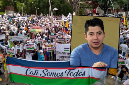 Marcha del silencio en Cali fue criticada por Ariel Ávila.