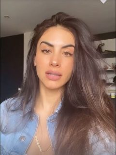 Jessica Cediel, presentadora del Canal Caracol que expuso a hombre que le hizo comentarios subidos de tono en Instagram