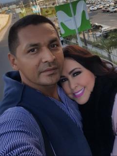 Foto de Wilfredo Hurtado y Arelys Henao, a propósito de su historia de amor y que fueron desplazados