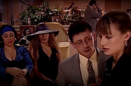 Alina Lozano, Andrea Guzmán, Wilson Rangel y Marcela Mar en 'Pedro, el escamoso', a propósito de cómo luce 'Gutiérrez' hoy y su pasión por Millonarios.