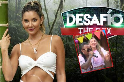 Daniella Álvarez, que bailó champeta en el 'Desafío'.