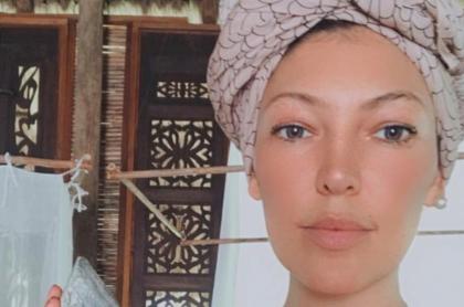 Actriz Natalia Durán reaparece luego de primera cirugía por cáncer: video.