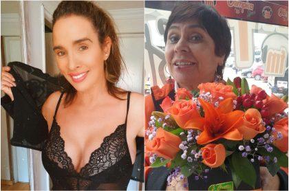Foto de Luly Bossa y 'la Negra Candela', a propósito de si la periodista le pagó la demanda