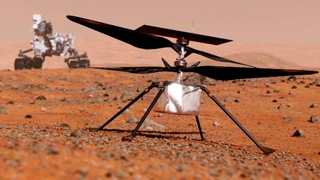 Getty / Helicóptero marciano Ingenuity