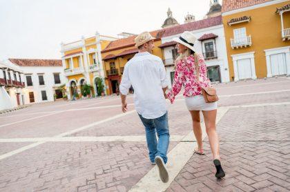 Imagen que ilustra la reactivación del turismo en Colombia.