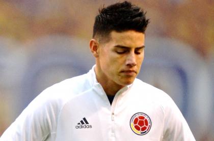 James Rodríguez habría salido de Selección Colombia por no presentarse a tiempo. Imagen del futbolista.