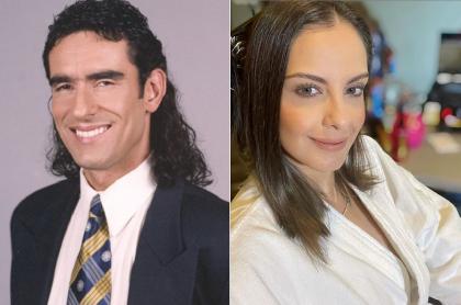 Miguel Varoni en 'Pedro, el escamoso' y Laura Acuña arreglándose, a propósito de actores de 'Pedro, el escamoso' que tiene hermanos famosos y el parentesco falso.