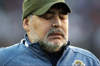 Muerte de Maradona: aplazan declaraciones indagatorias de los imputados. Imagen de referencia del 'Pelusa'.