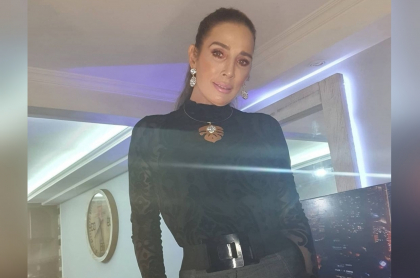 Foto de Luly Bossa, a propósito de su ha mantenido a sus exnovios