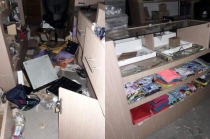 Fotos de daños en Jardín Botánico de Medellín: lo saquean y vandalizan