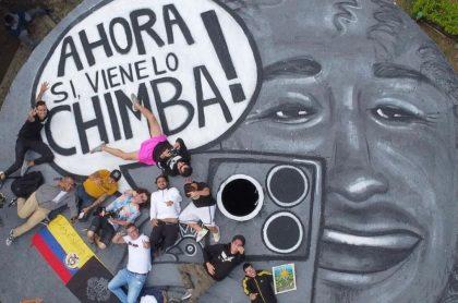 Foto de nota Luisito Comunica salió de Cali: hicieron tatuaje suyo en una nalga y un mural