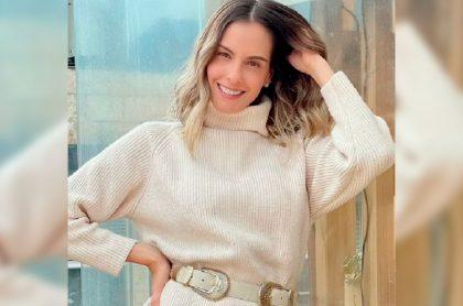 Laura Acuña presentará La voz kids y La voz senior en Caracol Televisión.