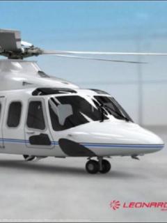 Imagen del nuevo helicóptero presidencial Leonardo AW-139 VIP